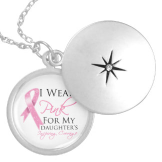 Tochter, die Mut-Brustkrebs inspiriert Medaillon