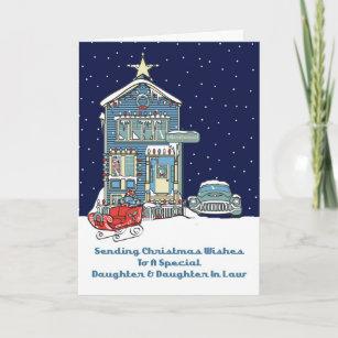 Weihnachtswünsche Für Den Sohn.Weihnachten Für Schwiegertochter Karten Zazzle De
