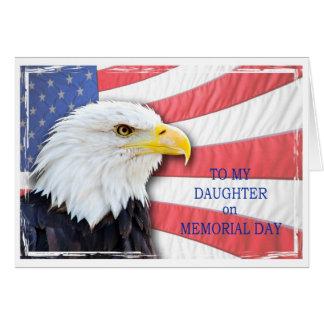 Tochter, Volkstrauertag, mit einem Grußkarte