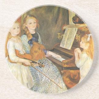Töchter von Catulle Mendes durch Pierre Renoir Getränkeuntersetzer