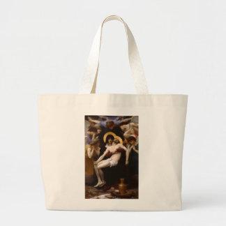 Tod der Jesus-Taschen-Tasche Jumbo Stoffbeutel
