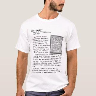 Tod der Konstitution T-Shirt