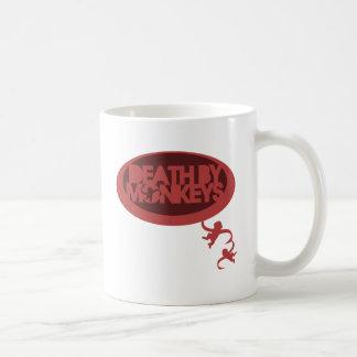 Tod durch Affen Tasse