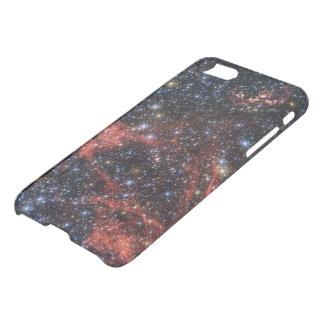 Tod eines Sternes - rote Wispy Überreste von iPhone 7 Hülle