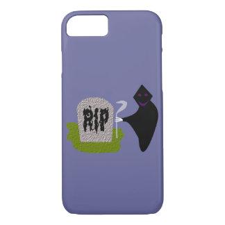 Tod im Friedhofs-Halloween iPhone Fall iPhone 8/7 Hülle