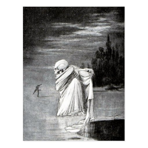 Tod nach der Eispostkarte Postkarten