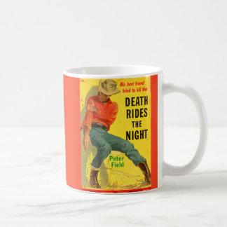 Tod reitet den NachtWestern-Bucheinband Kaffeetasse