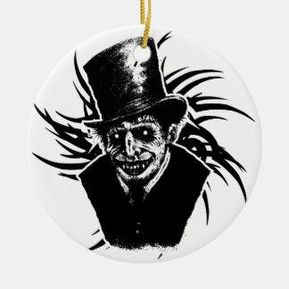 Tod Rundes Keramik Ornament