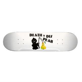 Tod u. DIS-Birne 18,7 Cm Mini Skateboard Deck