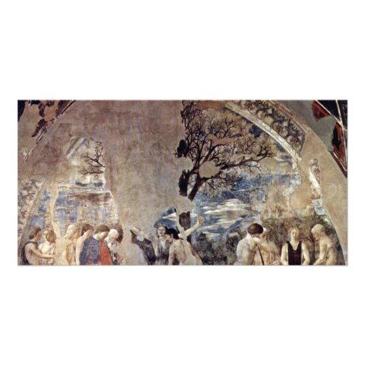 Tod und Beerdigung von Adam., durch Piero Della Fr Personalisierte Photo Karte