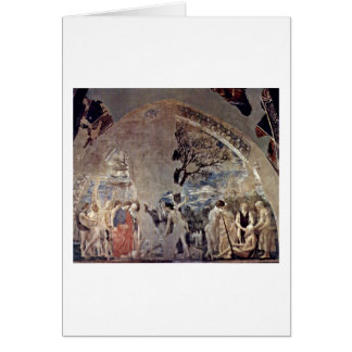 Tod und Beerdigung von Adam durch Piero della Karte