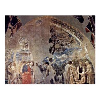 Tod und Beerdigung von Adam., durch Piero Della Postkarte