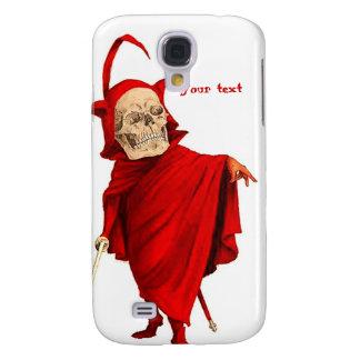 Tod Vintager Teufel-Skeleton Schädel-Halloweens Galaxy S4 Hülle