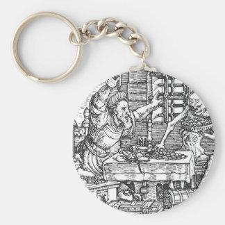 Tod vom Tanz des Todes Hans Holbein Schlüsselanhänger