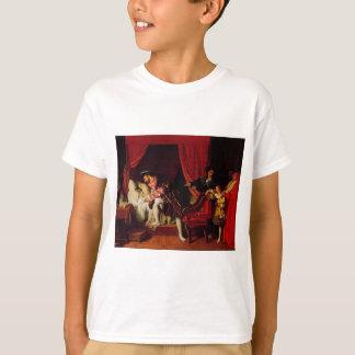 Tod von Leonardo da Vinci durch Ingres circa 1818 T-Shirt