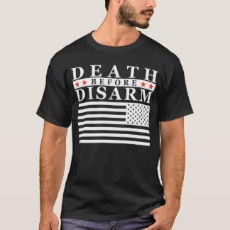 Tod vor entwaffnen - Großdruck T-Shirt