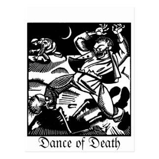 Tod zu einer wütenden Weltpostkarte Postkarte