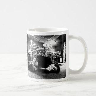 """Todd Sucherman """"zu viel Kaffee-"""" große Kaffeetasse"""