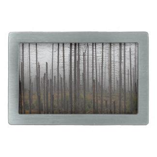 Todesgezierte Bäume Rechteckige Gürtelschnalle