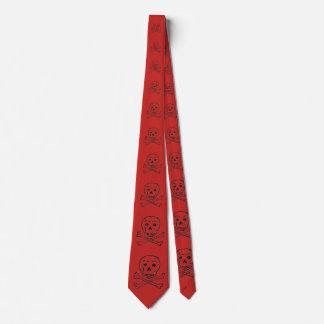 Todesmonogramm-Krawatte des 18. Jahrhunderts Krawatte