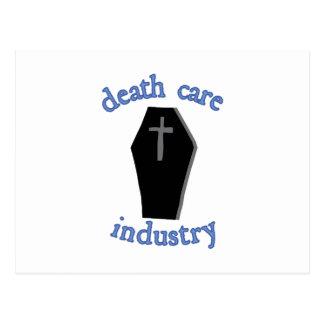 Todessorgfalt-Industrie Postkarte