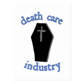 Todessorgfalt-Industrie Postkarten