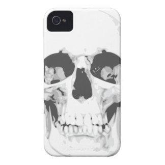 Todesweißer Schädel iPhone 4 Kasten Case-Mate iPhone 4 Hülle