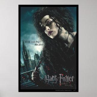 Tödlich heiligt - Bellatrix Lestrange 2 Poster