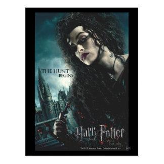 Tödlich heiligt - Bellatrix Lestrange 2 Postkarte