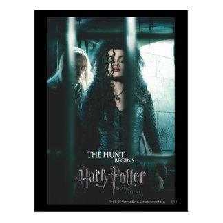 Tödlich heiligt - Bellatrix u. Lucius Postkarte