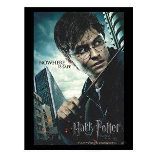 Tödlich heiligt - Harry Postkarte