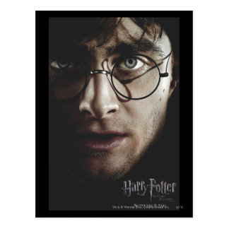 Tödlich heiligt - Harry Potter Postkarte