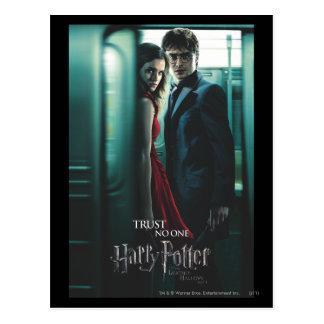Tödlich heiligt - Harry und Hermione Postkarte