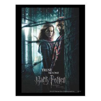 Tödlich heiligt - Hermione und Ron Postkarten