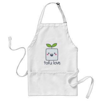 Tofu-Liebe-Schürze