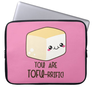 Tofu-rrific Emoji Laptopschutzhülle