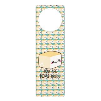 Tofu-rrific Emoji Türanhänger