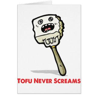 Tofu schreit nie karte