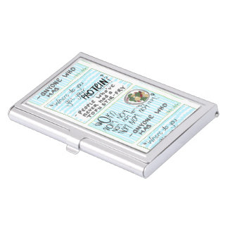 Tofu Stir-Fischrogen Visitenkarten Dose