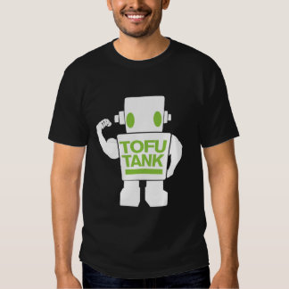 Tofubehälter der Vegetarier Android T-Shirts