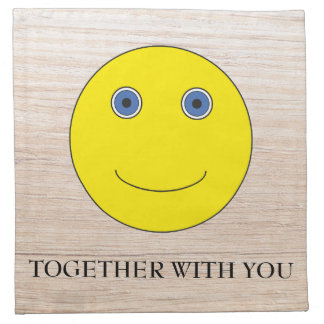 Together with you serviette