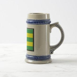 Togo-Flagge Bierglas