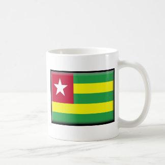Togo-Flagge Kaffeetasse