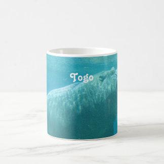 Togo-Flusspferd Kaffeetasse