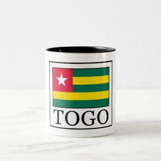 Togo Zweifarbige Tasse