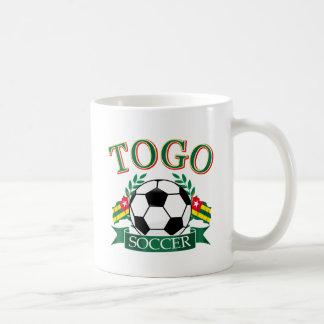 Togoische Fußball-Entwürfe Kaffeetasse