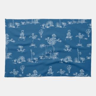 Toile Blau-Einhorn Handtuch
