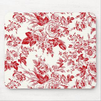 Toile Roses - Fußmatte der Maus Mauspads