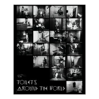 Toilets-Plakat - Trabergarnelen Poster