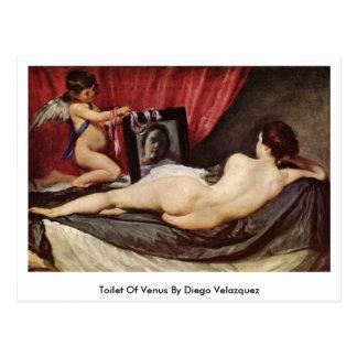 Toilette von Venus durch Diego Velazquez Postkarte